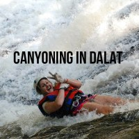 Canyoning (AKA Jumping Off Waterfalls) in Dalat