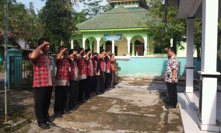 Apel pagi pemerintah desa Kaliori Purbalingga