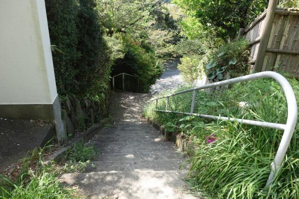 12階段を下る