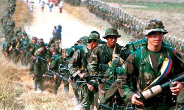 FARC Kolumbija