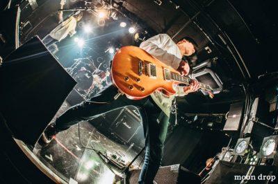 moomdropメンバーギター