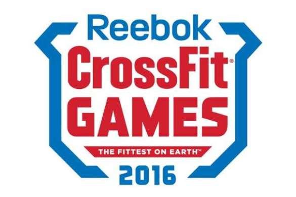 Reebok CrossFit Games 2016 logo slider