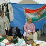 Hungarian bazaar table (Photo: C. Adam)