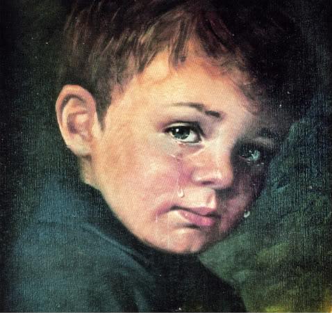 Lukisan / Crying Boy