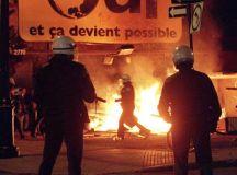 Montreál 1995. október 30-án, a referendum éjszakáján. Fotó: Tom Hanson.