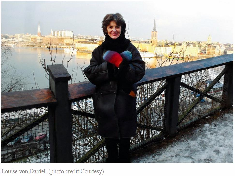 Louise von Dardel Budapesten.