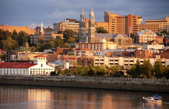 Saguenay városa. Fotó: saguenay.ca