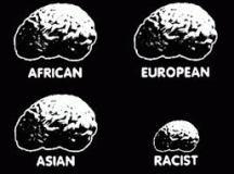 Tömény rasszizmus!