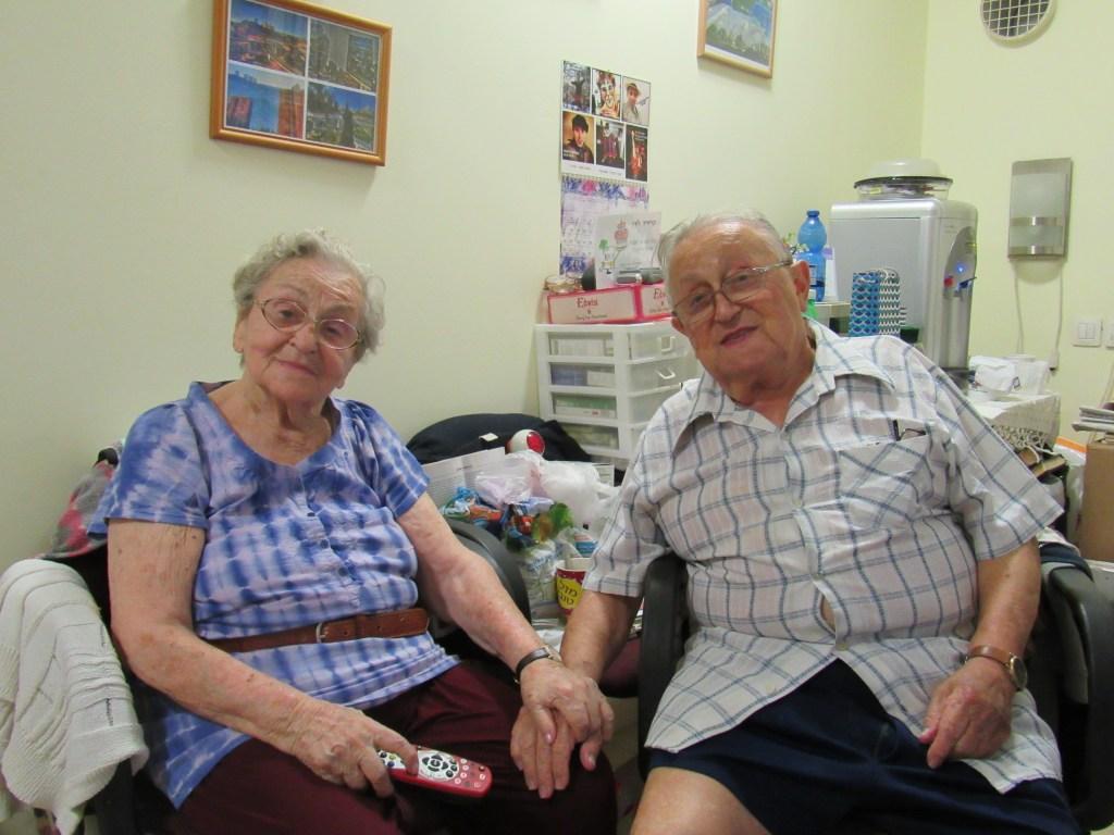 Lory és Endre (Haifa, Izrael)