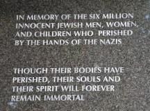 Holocaust Memorial — Miamiban