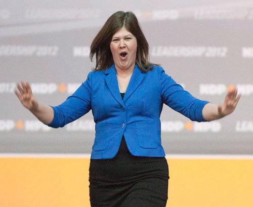 Rebecca Blaikie, az NDP pártelnöke.