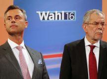 Norbert Hofer és Alexander Van Der Bellen.