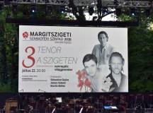 3 Tenor a Szigeten — operagála világpremier