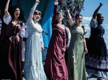 Shakespeare Fesztivál az ontarioi St. Lawrence-ben.