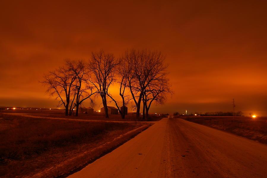 Down The Haunting Road Under The Orange Sky / Jeff Swan