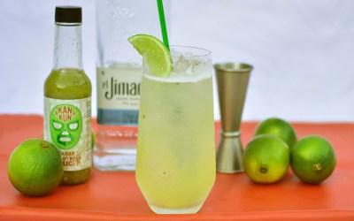 Long Verdita Spicy Cocktail