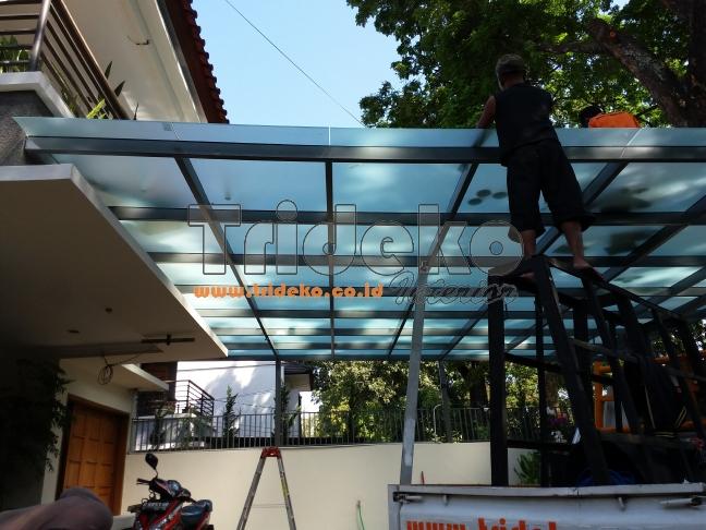 Pemasangan Kanopi Kaca Bandung Raden Patah