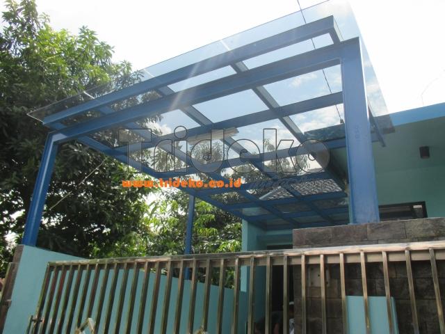 Pasang Kanopi Kaca Laminated di Bekasi
