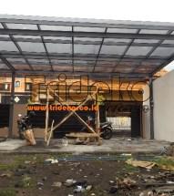 Pemasangan Kanopi Kaca Tempered di Lumajang Jawa Timur