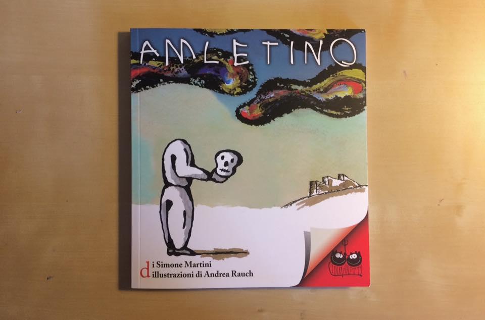 Amletino, il libro (copertina)