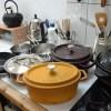 キッチン愛用品。お気に入り一軍の鍋とフライパン。ジオ・プロダクト、ストウブ、魔法のフライパン