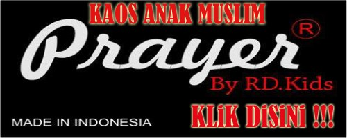 kaos anak muslim prayer
