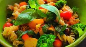 Mediterranean Pasta Salad – Heather Downey [Guest Post]
