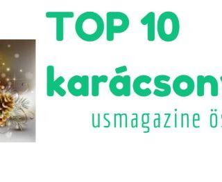 TOP 10 karácsonyi dal – usmagazine összeállítás