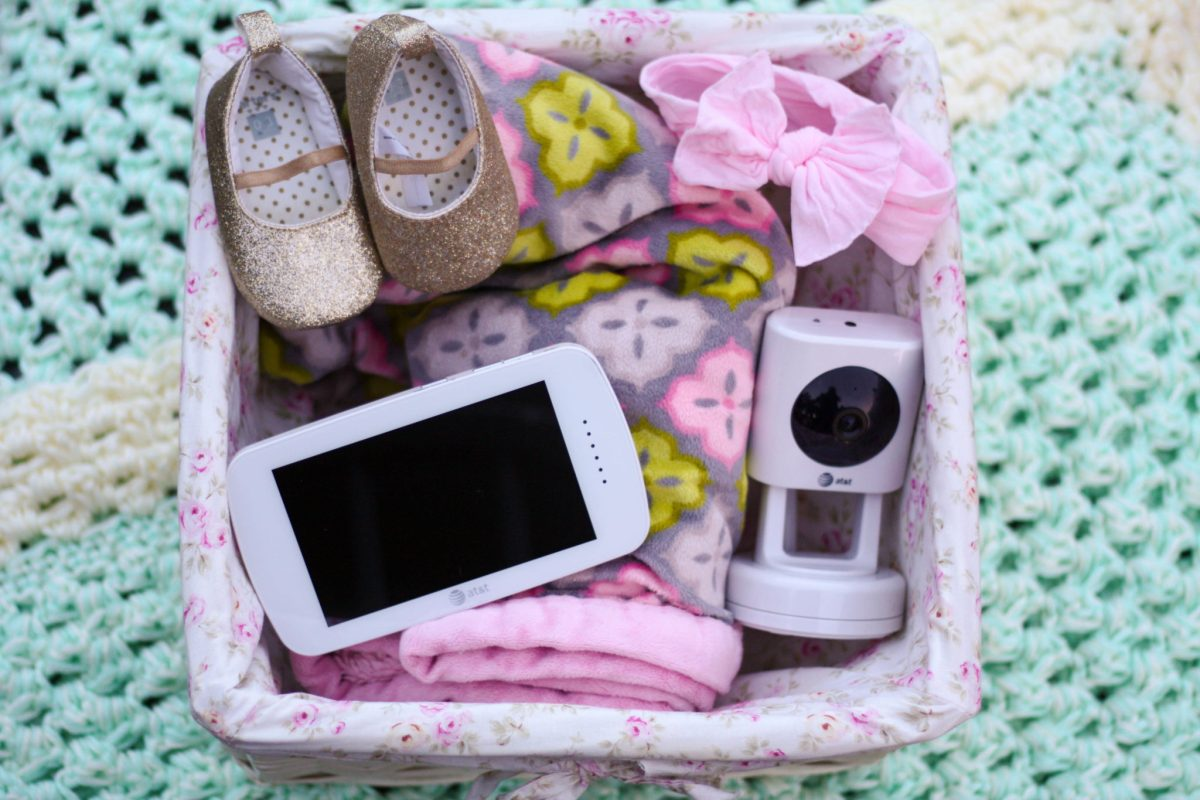 baby 39 s journey at t baby monitor kara in the kitchen. Black Bedroom Furniture Sets. Home Design Ideas