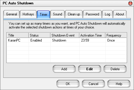 PC Auto Shutdown Full Version