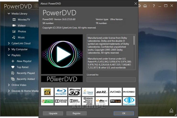 CyberLink PowerDVD Ultra 16 Full