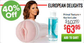 Fleshlight Black Friday Euro Girl Combo Pack
