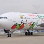台湾 エバー航空ハローキティジェットは「あれ」までキティだった【台湾旅行】