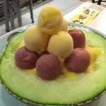 台南 泰成水果店 「日本人よ,これが台南だ!」南国の極上スイーツはアイス in&on メロン?!
