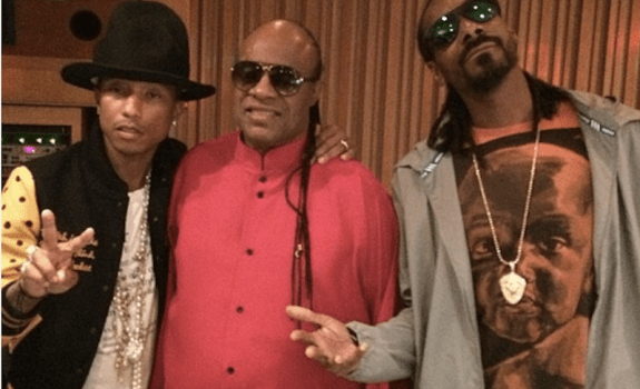 Snoop Dogg, Pharrell, Stevie Wonder