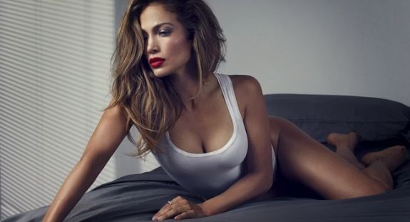 Jennifer Lopez Billboard Spread
