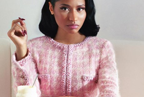 Nicki Minaj on Dazed