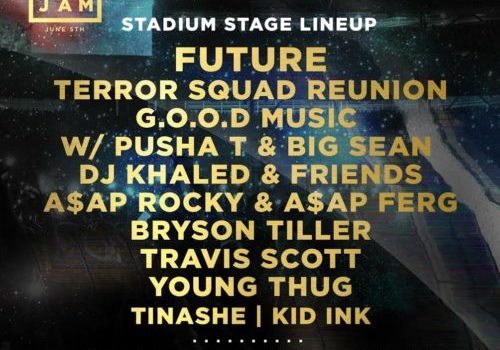 full line up summer jam 2016