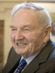 David Rockefeller Senior (1915-2014)