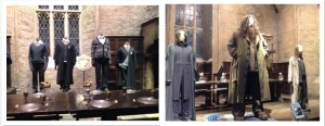 Harry Potter costume collage