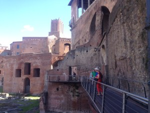 Walk along the ruins for free--no hassle