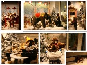 kassel steiff christmas market display