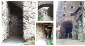 starting to explore rheinfels tunnels