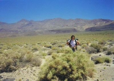 Death Valley, CA - 1998 - photo taken by companion
