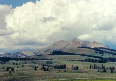 The Wyoming region of Yellowstone - 2002