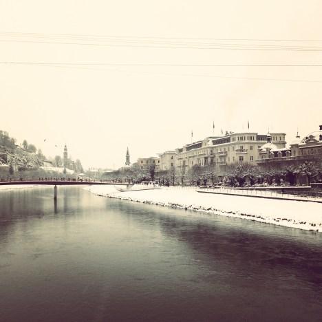 salzburg river footbridge