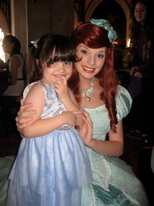 first time meeting Ariel