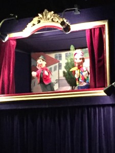 puppet show in town