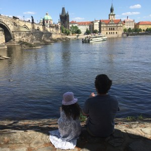 My husband has wanted to return to Prague since we visited in our first few months of expat life.