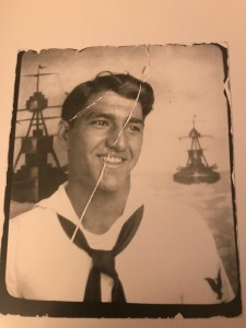 That's Poppop - Angelo Yerace - as a young sailor